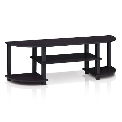 Furinno 11058DWN Turn-S-Tube Wide TV Entertainment Center - Wooden TV Stand
