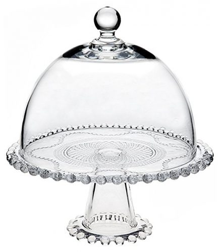 Godinger Easton Cake Stand - cake stands with dome