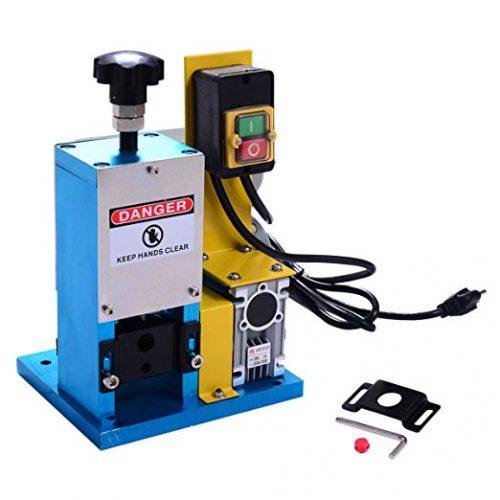 Goplus Powered Electric Wire Stripping Machine - Wire Stripping Machines