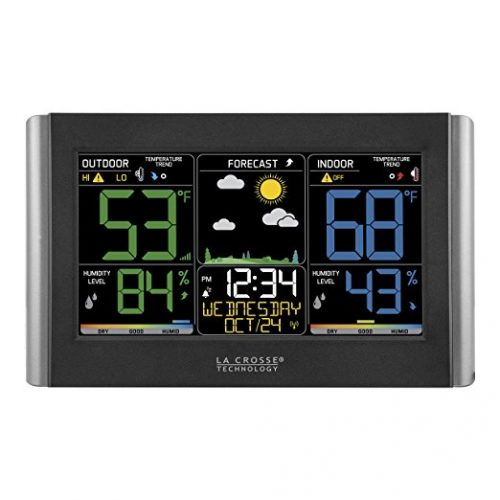La Crosse Technology C85845-1 Color Wireless Forecast Station - Weather Thermometers