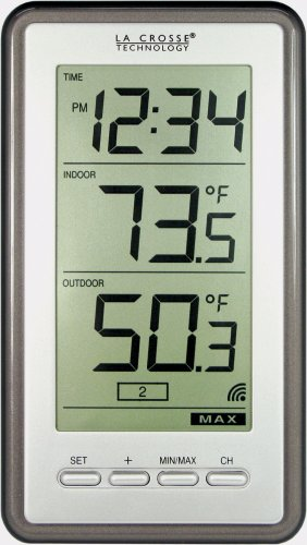 La Crosse Technology WS-9160U-IT Digital Thermometer - Weather Thermometers