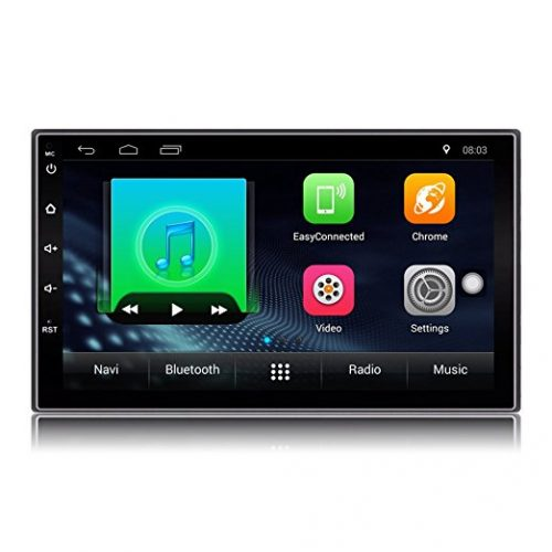 Lexxson Car Stereo GPS Navigation Double 2 Din 7 inch Quad Core 1.2GHz Android FM/AM Car Radio Stereo - Android Car Stereo Systems