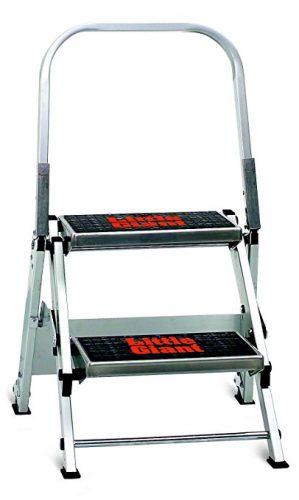 Little Giant Ladder Systems 10210BA Safety Step Stepladder - 2 Step Ladders