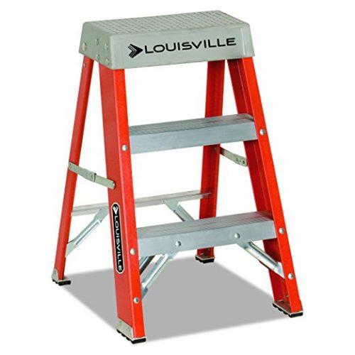 Louisville FS1502 Fiberglass Heavy Duty Step Ladder - 2 Step Ladders