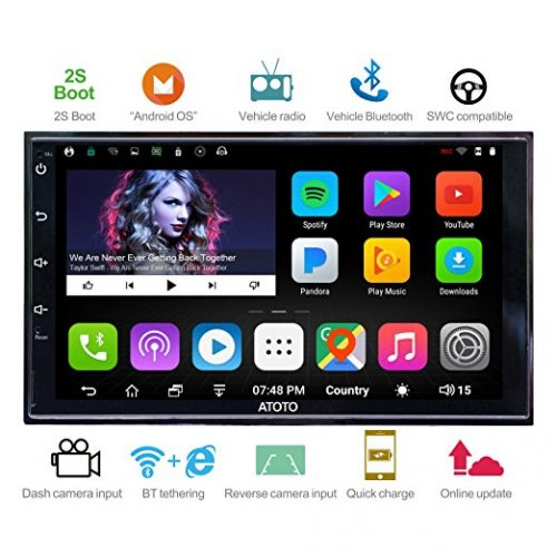 [NEW] ATOTO A6 2DIN Android Car Navigation Stereo - Android Car Stereo Systems