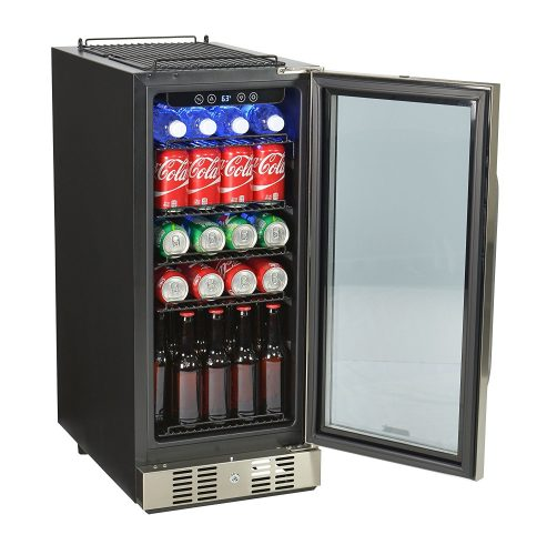 NewAir ABR-960 Compact 96 Can Build In Beverage Cooler- best beverage refrigerators
