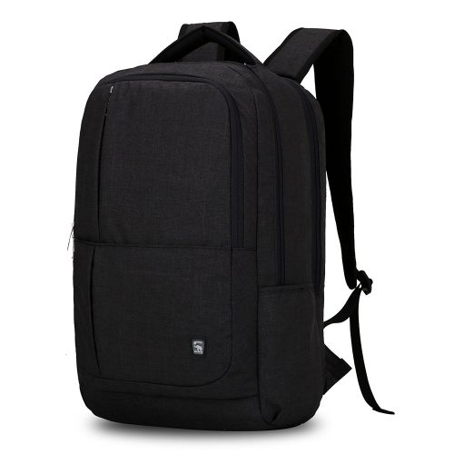 Oiwas Nylon Business Backpack with Large Full Separate Multi-compartment for 17 Inch Laptop Notebook - 17-inch laptop backpacks