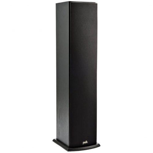 Polk Audio T50 Home Theater and Music Floor Standing Tower Speaker (Single, Black) - floor standing speaker