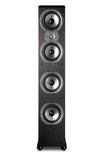 Polk Audio TSi500 Floor-standing Speaker (Single, Black) - floor standing speaker