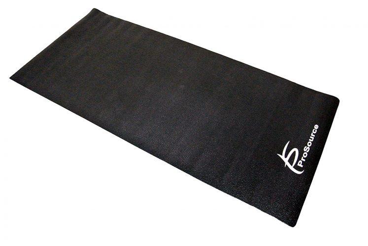 ProSource Discounts High-Density PVC Floor Protector Treadmill Mat, 6.5 x 3-Feet - Gym and exercise equipment floor mat