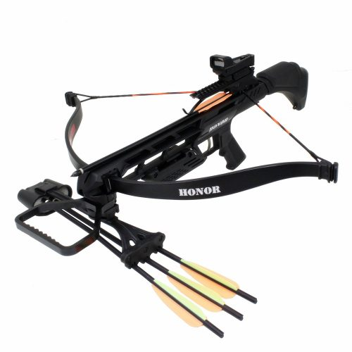 SAS Honor 175lbs Recurve Crossbow Red Dot Scope Package - Crossbows under 500