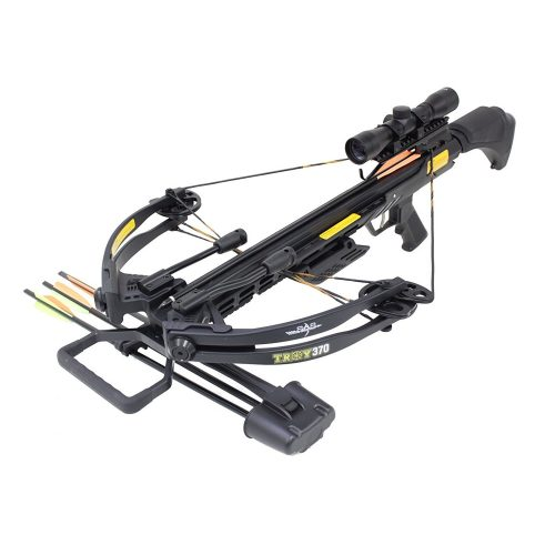 SAS Troy 370 Compound Crossbow 4x32 Scope Package - Crossbows under 500