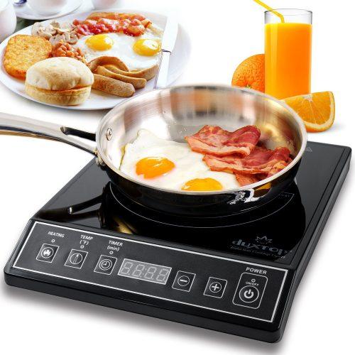 Secura 9100MC 1800W Portable Induction Cooktop Countertop Burner, Black - Portable Single Burner