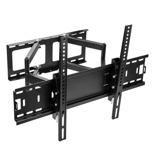 Sunydeal Full Motion Tilt Swivel TV Wall Mount Bracket for Vizio Samsung Sharp Sony LG Panasonic 30 32 39 40 42 43 46 47 48 49 50 55 60 inch Plasma LCD LED Smart TV, VESA up to 600 x 400 mm, Max 99lbs - Curved and Flat TV Wall Mount Bracket