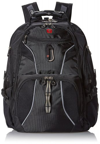 Swiss Gear SA1923 Black TSA Friendly ScanSmart Laptop Backpack - Fits Most 15 Inch Laptops and Tablets - 15 inch laptop backpack