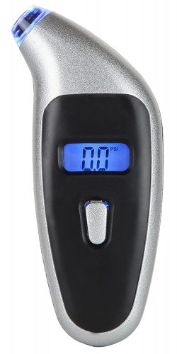 Tire Pressure Gauge Digital w/ Metal Body 150PSI - tire pressure gauge
