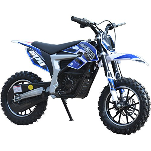 USA Big Toys 36v Electric Dirt Bike 500w Lithium Blue - Electric Dirt Bike