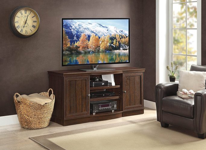 Whalen Furniture Arvilla Console, 70-Inch - Wooden TV Stand