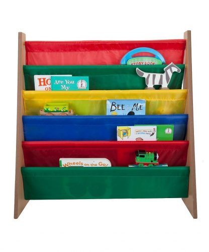 Saganizer 5 pockets bookshelf and magazine rack Toddler-sized book rack for Kids and book organizer for adults - Kids' Bookshelves