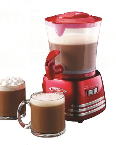 Nostalgia HCM700RETRORED Retro Series 32-Ounce Hot Chocolate Maker with Easy-Pour Spigot (100-150 words) - Hot Chocolate Makers