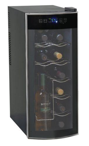 Avanti 12 Bottle Thermoelectric Counter Top Wine Cooler - Model EWC1201 - Freestanding Wine Cellar