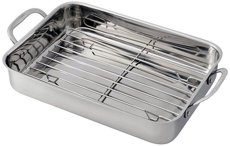 Cuisinart 7117-14RR Lasagna Pan with Stainless Roasting Rack - Roasting Pan