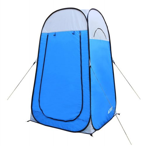 "Leader Accessories Pop Up Shower Tent Dressing Changing Tent Pod Toilet Tent 4' x 4' x 78""(H) Big Comfort Size - Best Shower Tents"