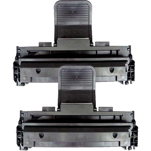2 Inktoneram® Replacement toner cartridges for Dell - Laser Printer Replacement Toner
