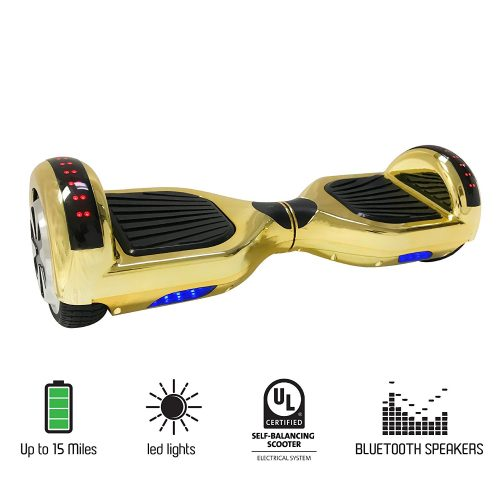 "6.5"" inch Wheels Electric Smart Self Balancing Scooter Hoverboard with Bluetooth Speaker LED Light - UL2272 Certified - Cheap Hoverboards"