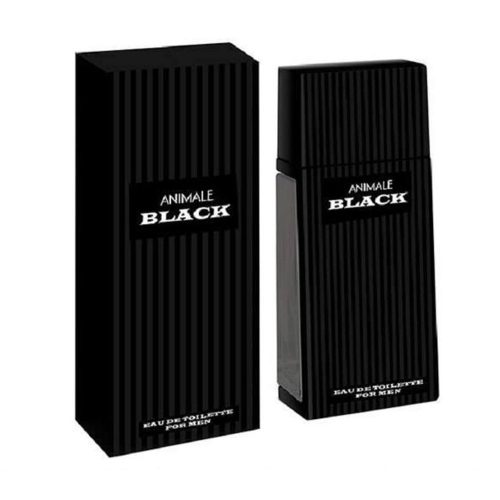 Animale Black by Animale for Men Eau De Toilette Spray, 3.4 Ounces - Seductive Perfume