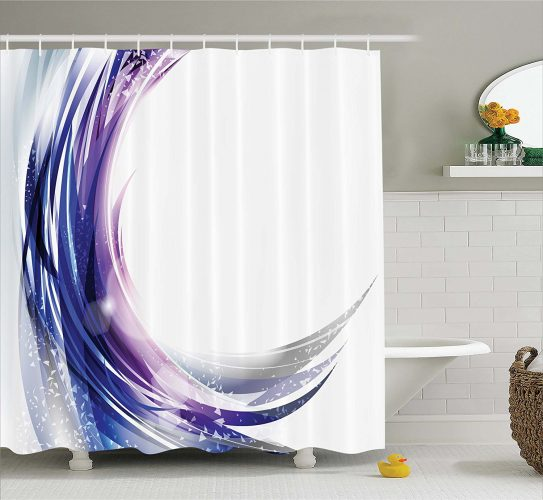 Ambesonne Ombre Shower Curtain- Shower Curtain