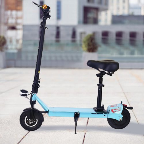 Ancheer Electric Scooters for Adults with Seat and Dual Suspension - Electric Scooters with Seat
