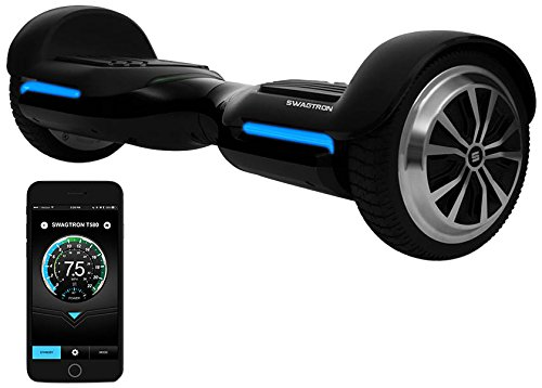 App-Enabled SWAGTRON T580 Bluetooth Hoverboard w/ Speaker Smart Self-Balancing Wheel – Available on iPhone & Android - Cheap Hoverboards
