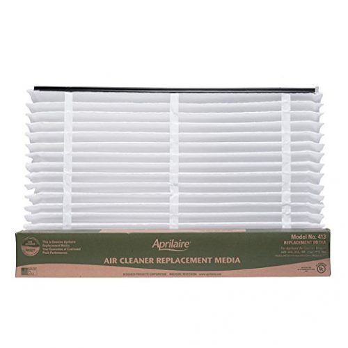 Aprilaire 413 Filter Single Pack for Air Purifier Models 1410, 1610, 2410, 3410, 4400, Space-Gard 2400 - Furnace Filters