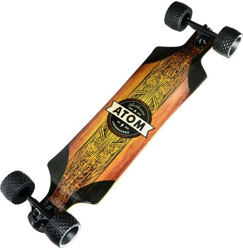 """Atom Longboards Atom All-Terrain Longboard - 39"""", Woody - off-road skateboards"""