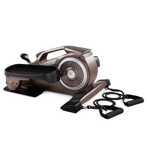 Bionic Body Compact Under Desk Elliptical Stepper with Magnetic Resistance Tubes NS-1009 - portable elliptical
