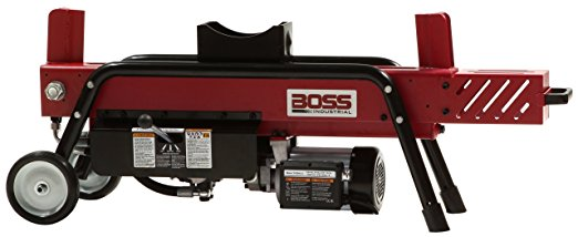 Boss Industrial ED8T20 Electric Log Splitter, 8-Ton - Electric Log Splitters