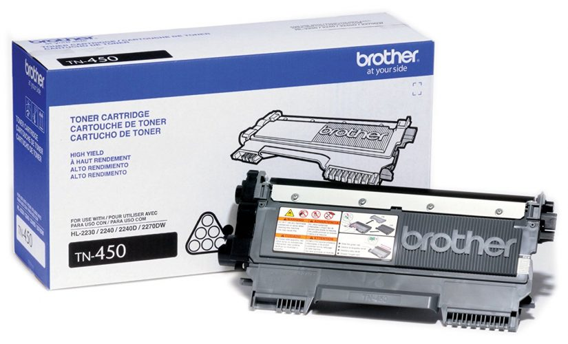 Brother Genuine TN450 High Yield Mono Laser Toner Cartridge - Laser Printer Replacement Toner