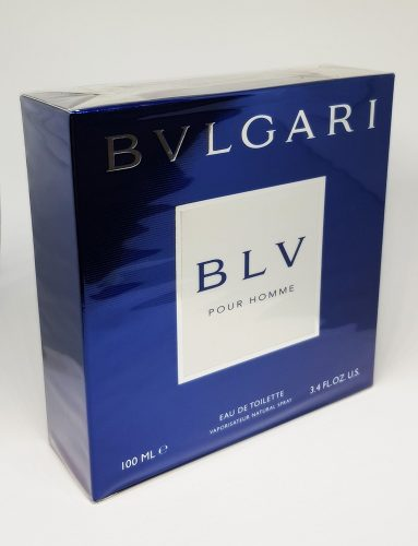 Bvlgari Men's BLV Pour Homme EDT Spray, Blue, 3.4 oz. - Seductive Perfume