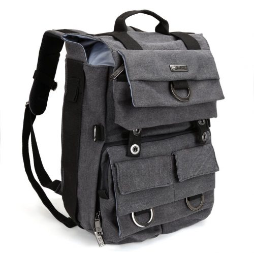 Camera Backpack, Evecase Canvas DSLR Camera Travel Backpack with 14 inch Laptop  - 14-inch laptop backpacks