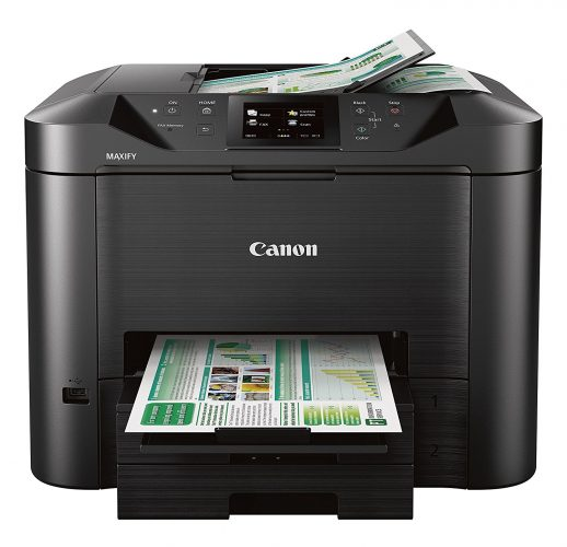 Canon Office and Business MB5420 Wireless All-in-One Printer, Scanner, Copier and Fax, with Mobile and Duplex Printing - fax machine