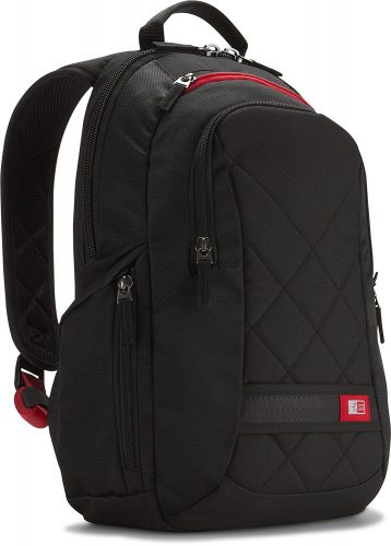 Case Logic DLBP-114 14-Inch Laptop Backpack Bag - Black - 14-inch laptop backpacks