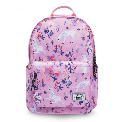 College Backpack for Women Girls, Tomtoc 14 Inch Laptop Backpack Computer Bag Daypack Travel Bag School Bookbags Outdoor Weekend Bag - Fits up to 15 Inch MacBook, Unicorn Pink - 14-inch laptop backpacks