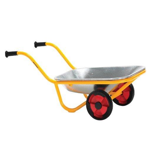 Constructive Playthings WIN-593 Heavy Duty Steel Wheelbarrow - 2-WHEEL WHEELBARROW