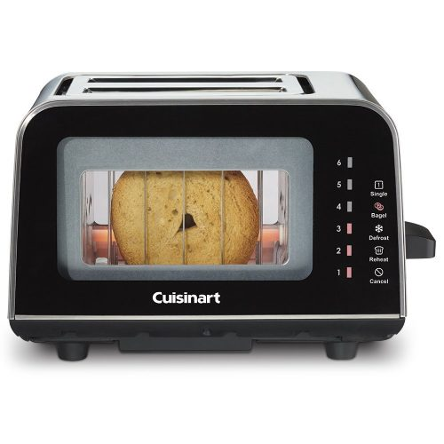 Cuisinart CPT-3000 ViewPro Glass 2 Slice Toaster - See-through Toasters