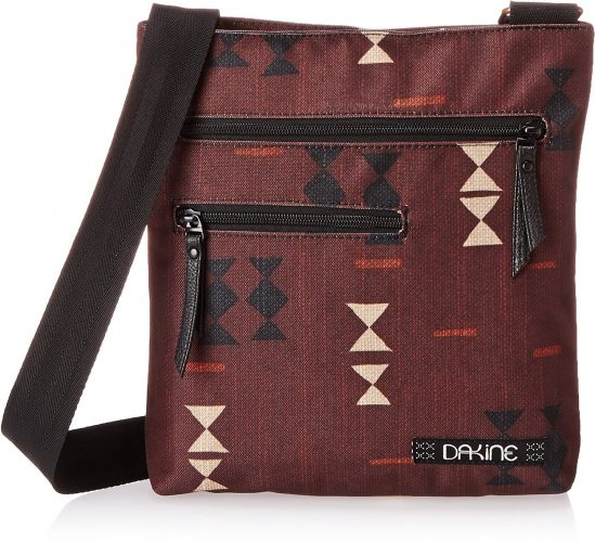 "Dakine - Jo Jo Women's Crossbody Bag - Perfect Size - Fits Tablet - Adjustable Cross Body Shoulder Strap - Interior Zippered Pocket - 10"" x 11""  - Sling Bag For Women"