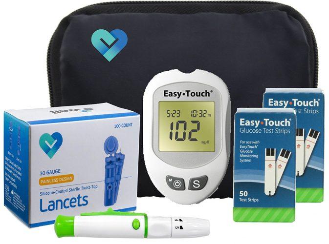Diabetic testing kitDiabetic testing kit - Cholesterol Test Kit