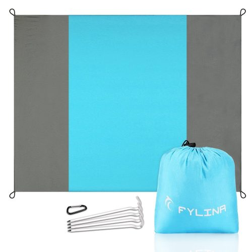 FYLINA Beach Blanket Huge Picnic Blanket Water Resistant Sand Free 7'x9' Oversized - Beach Blankets