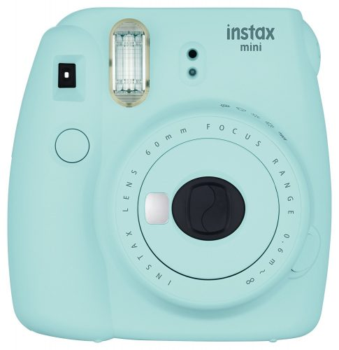 Fujifilm Instax Mini 9 - Ice Blue Instant Camera - instant film cameras