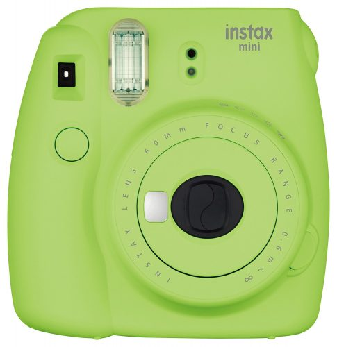 Fujifilm Instax Mini 9 Instant Camera - Lime Green - instant film cameras